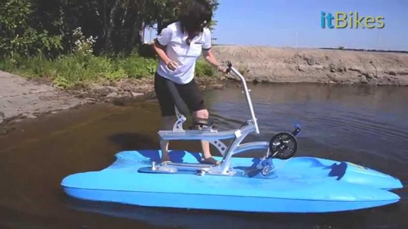 ItBikes Water Bikes - Launching your Water Bike