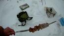 Готовка в лесу Мясо на шампуре