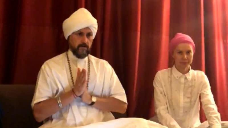 Видеозапись Садханы с Хари Сингх Кхалса от 14.10.2018 года
