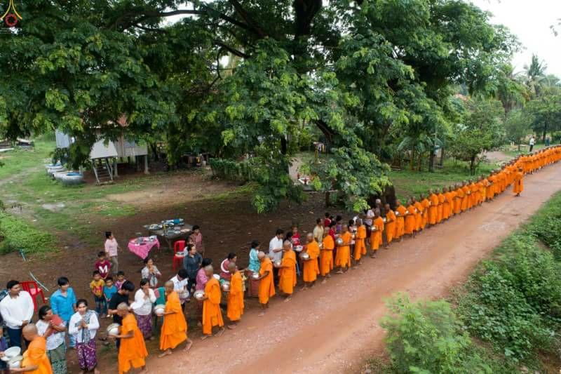 некий буддистский праздник (?)