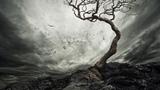 The Ashen Tree - Memories in Monochrome (Melodic Death Doom Metal, 2018)