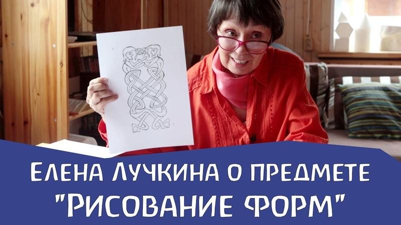 О предмете Рисование форм. Елена Лучкина