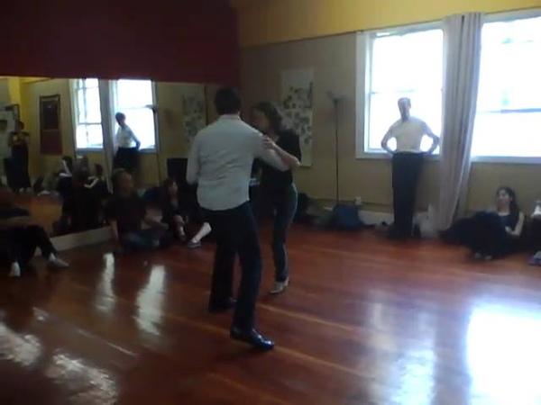 Chris and Campbell Bluesy Waltz demo, Dec. 2010 SF