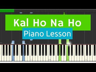 Kal Ho Na Ho / Har Ghadi EASY Basic Piano Tutorial with SHEETS