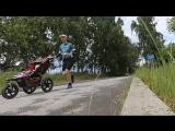 Jogging stroller workout