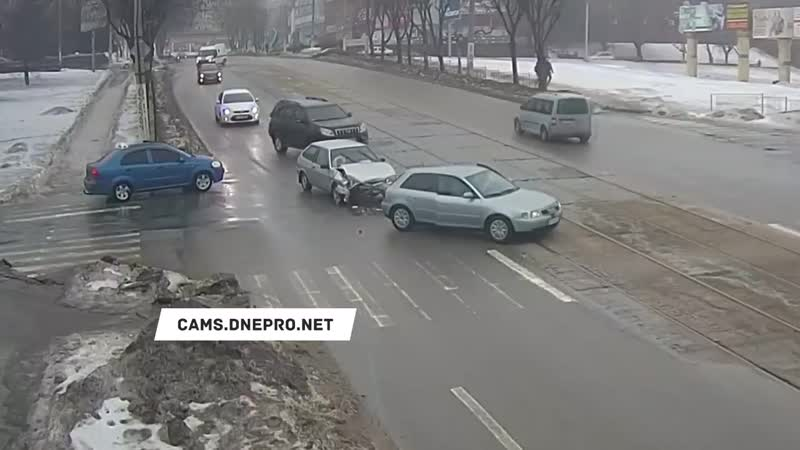 ДТП на Аношкина_Шевченка - 01.02.19