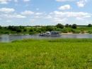 Река Ока рядом с городом Таруса