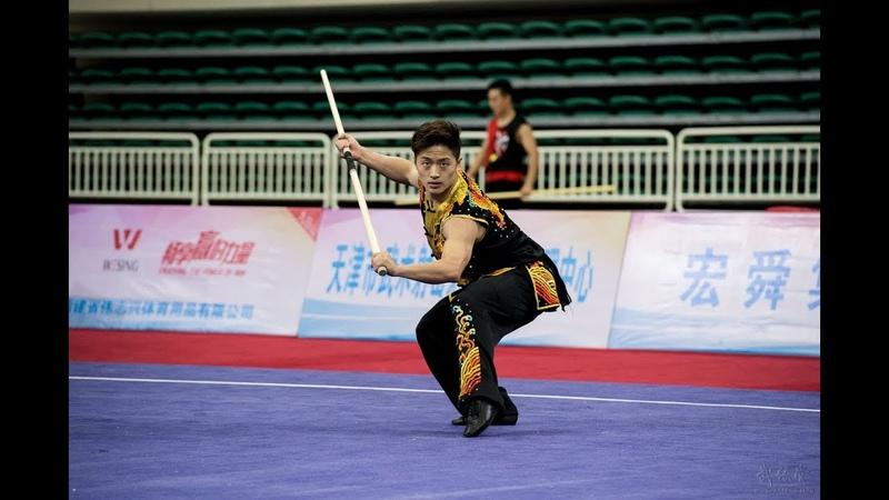 Men's Nangun 男子南棍 第13名 江西队 刘忠鑫 8 94分 2016年全国武术套路冠军赛