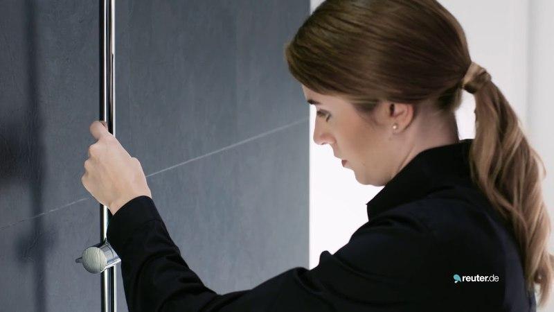 Montagevideo Duschsystem Hansgrohe Crometta E 240