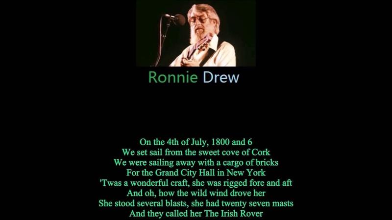 IRELAND Top Singer-Shane Mac Gowan Ronnie Drew-The Irish Rover