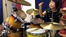 """よよかのドラム講座16『重いグルーヴ』8歳女子ドラマー/8year old drummer """"Yoyoka"""