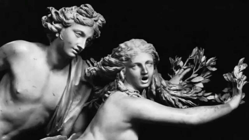 Gian Lorenzo Bernini 5 - Apollo e Dafne   Locchio che sente.