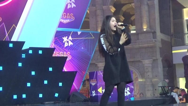SoundCheck Полина Богусевич(Moscow Eurovision Pre-Party,Жара,Кунцево,7.4.18)
