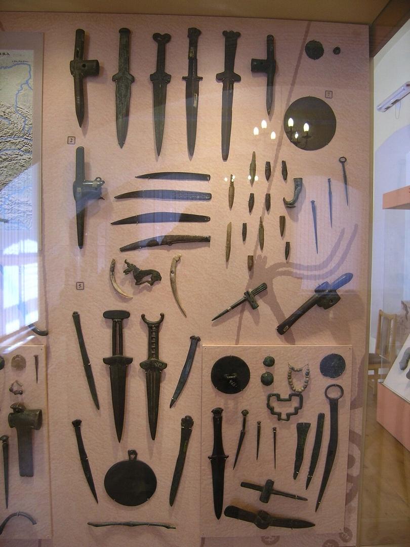 экспонаты из минусинского музея