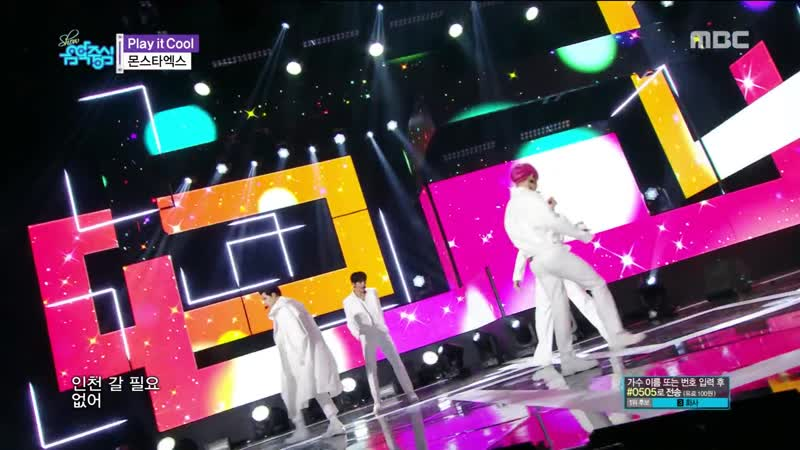 [VK][190223] MONSTA X - Play it Cool @ Show!Music Core