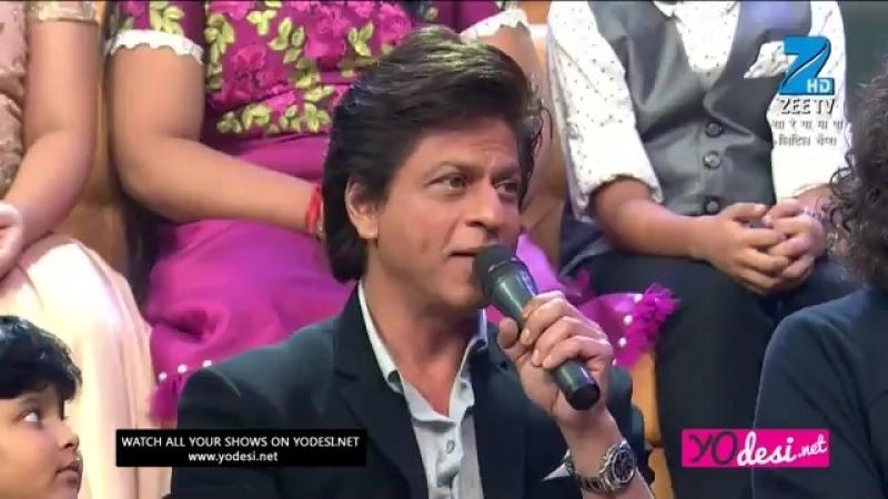 Shah Rukh khan and Vaishnav Girish - Zalima. Sa Re Ga Ma Pa Lil Champs (06.08.2017)