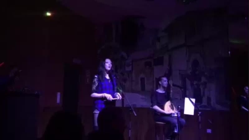 Марина Зима - Авто - Стоп! Череповец, караоке-бильярд-бар 12 футов, 05.10.2018