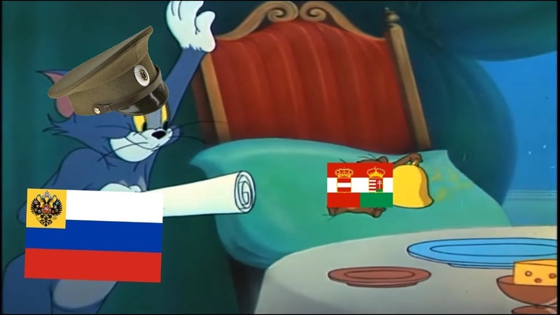 Tom and Jerry WW1 Meme - Russia in the Eastern Front (1914 - 1918)