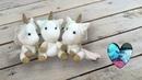 Bebés unicornios tejido a crochet Amigurumi parte 1