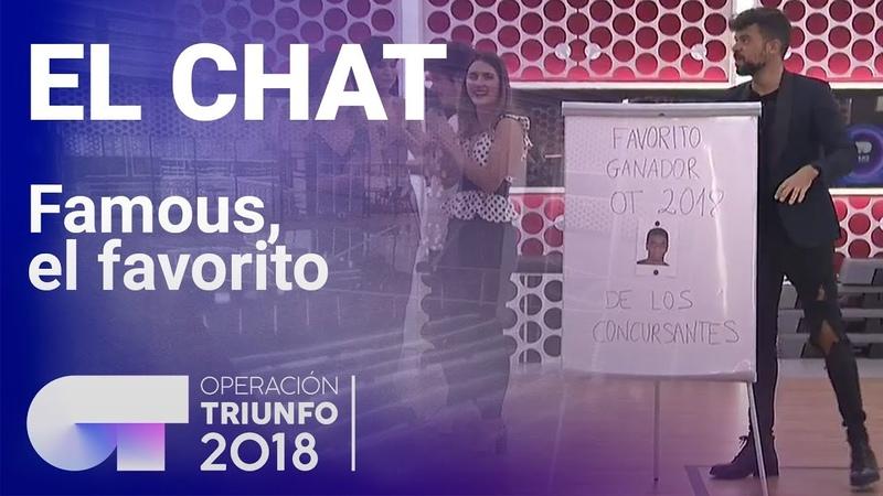 Famous, el favorito de sus compañeros | El Chat | OT 2018