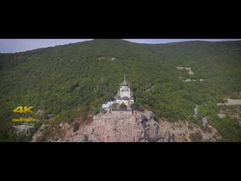 Полёт над Россией....Форосская церковь. Севастополь. Крым. Россия. 2015