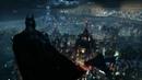 Wallpaper Engine - Batman Arkham Knight - Batman Overlooking Gotham from Wayne Tower
