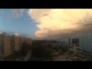 красивое небо предгрозой