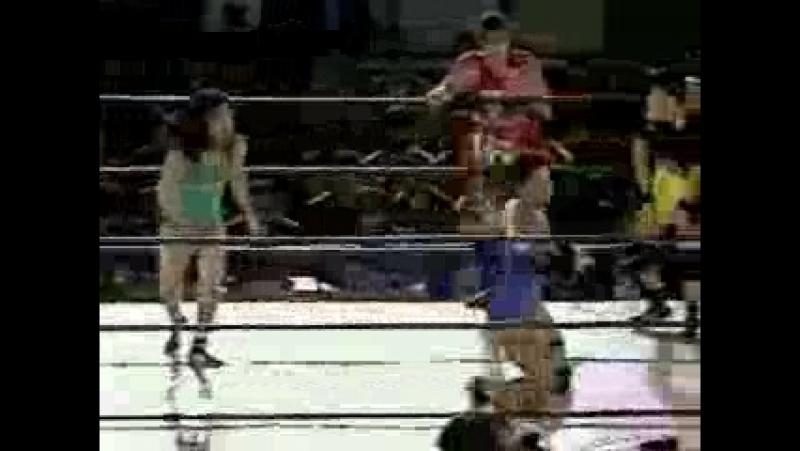 5. Nagayo, Toshie Uematsu vs. KAORU, Sonoko Kato (12.2.1995)