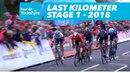 Last Kilometer Stage 1 Beverley Doncaster Tour de Yorkshire 2018
