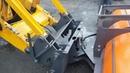 Механическое фронтальное быстросъемное устройство для всех видов экскаваторов погрузчиков