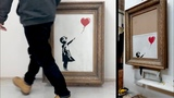 Shredding Banksy's the Girl and Balloon - The Directors Cut