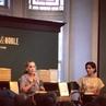 Сара посетила встречу с писательницей Фатимой Фархин Мирза в книжном магазине Barnes Noble 13 июня Нью Йорк