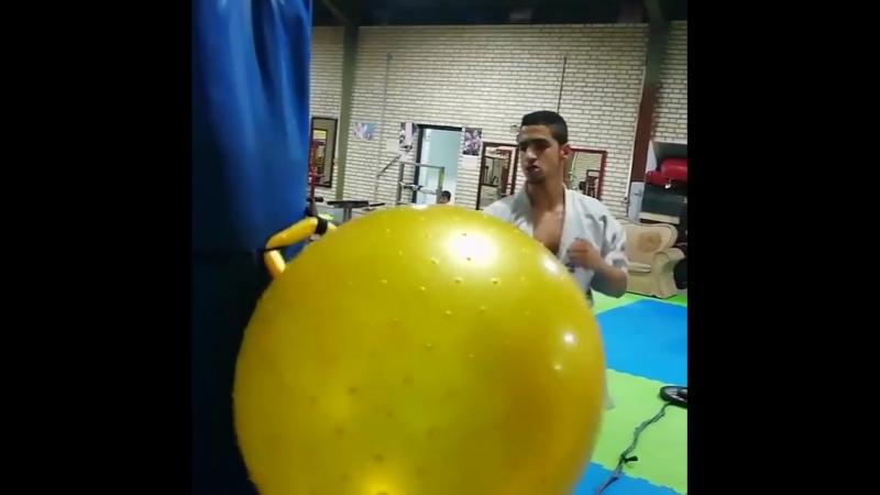 Отличная методика отработки Маваше гери дзёдан в Кёкусинкай карате. Подготовка бойца vk.com/oyama_mas