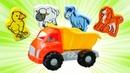 Lustiges Kinderlied - Lasst uns Englisch lernen - Die Tiere