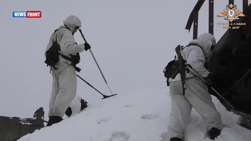 Подразделения Народной милиции отработали вводную в ходе учений МЧС ДНР