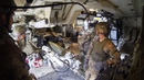 Inside the M109 Paladin 155 mm Self Propelled Howitzer