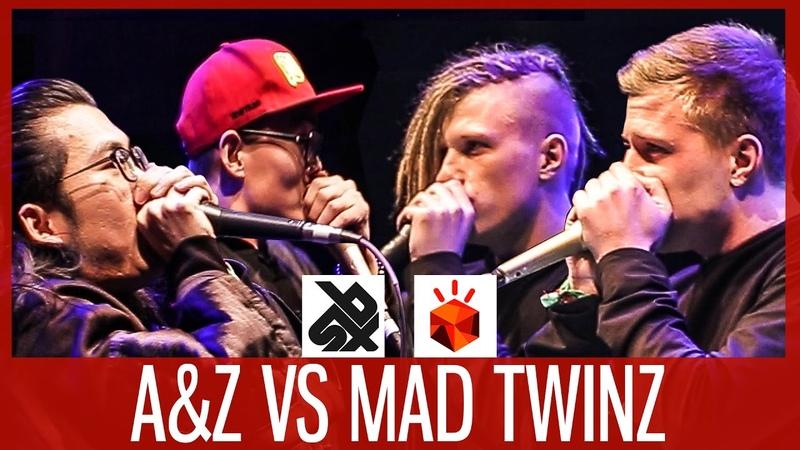 MAD TWINZ vs AZ | Grand Beatbox TAG TEAM Battle 2017 | FINAL