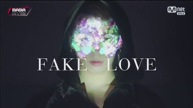 [2018 MAMA PREMIERE in KOREA] BTS VCR FAKE LOVE Perfomance