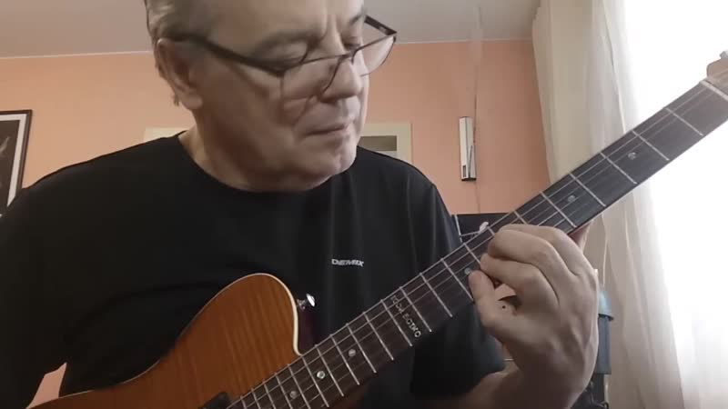 Сегодня разминка прошла под стандарт In a mellow tone igorboikolab jazz blues fendeguitars improvisation