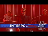 Interpol Performs 'The Rover'