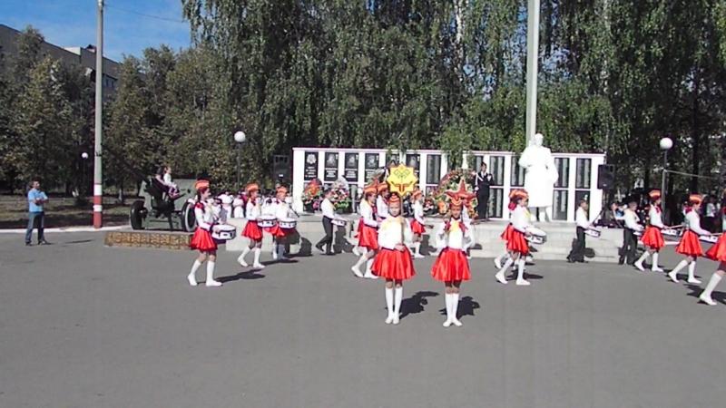 Отряд барабанщиков Ростки Яковлева