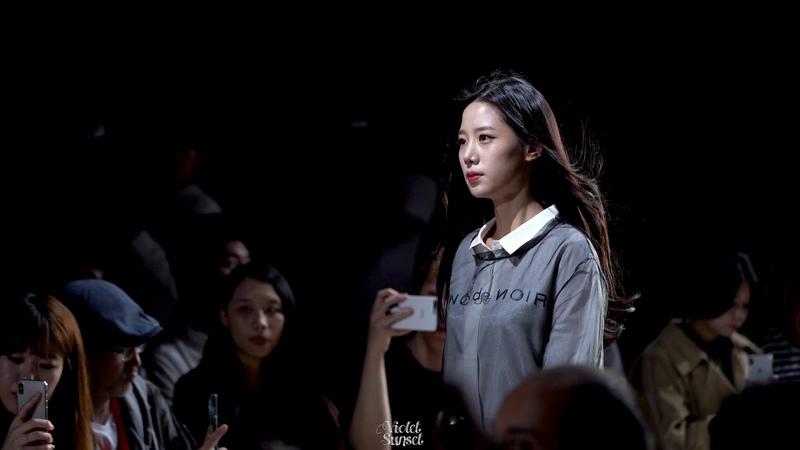 [181016] 베리굿(BerryGood) 조현(Johyun) 패션위크 블랑드누아 런웨이