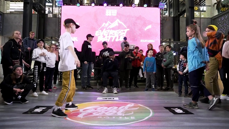 Everest battle 2.0.1.9   Hip-Hop kids   Semi-Final   Круглова Настя (win) vs Чипс