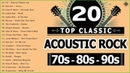Acoustic Rock Songs Top 20 Classic Rock Songs Of All Time