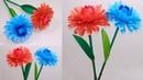 How to Make Beautiful Paper Dahlia Stick Flower Dahlia Stick Flower Jarines Crafty Creation