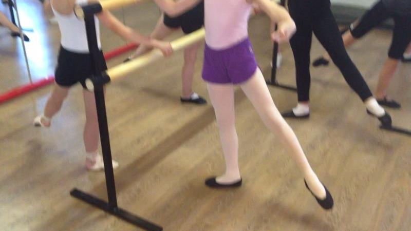Battments tendus jete классическая хореография