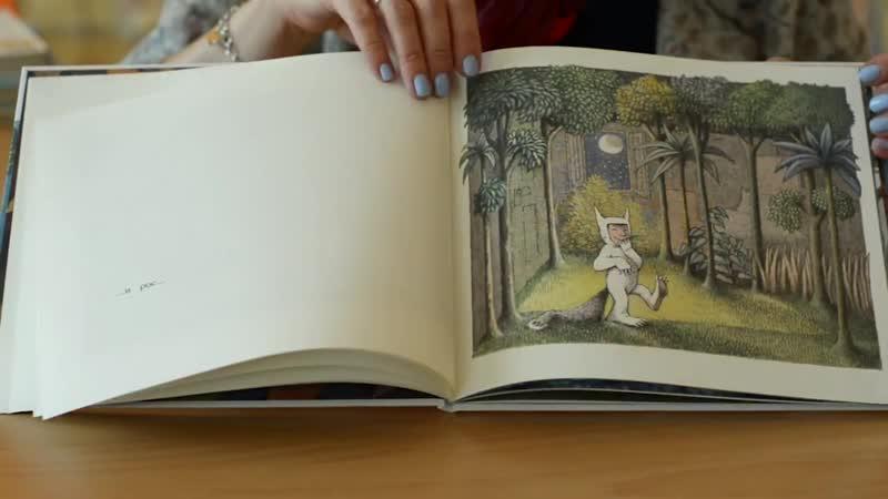 Смотрим книгу Мориса Сендака Там, где живут чудовища. 720HD