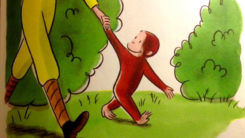 Curious George And The Puppies by Margaret H. A. Reys