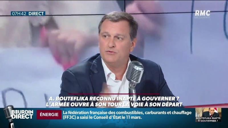 Louis Aliot : L'Algérie est un formidable gâchis.