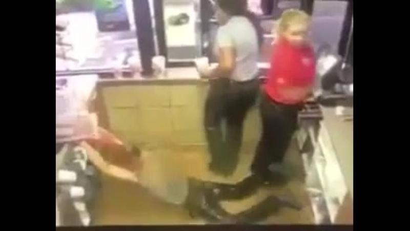 Guy spills sweet tea